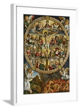 Triptych of the Rosary-Hans Suess von Kulmbach-Framed Giclee Print