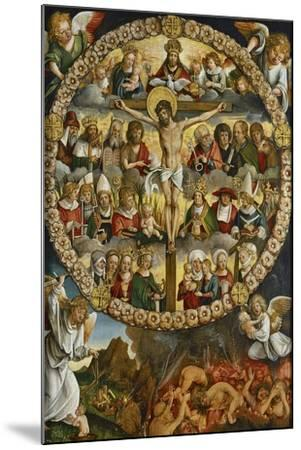 Triptych of the Rosary-Hans Suess von Kulmbach-Mounted Giclee Print