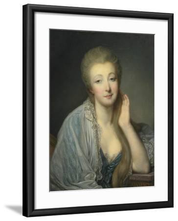 Jeanne Bécu, Comtesse Du Barry (1743-179)-Jean-Baptiste Greuze-Framed Giclee Print