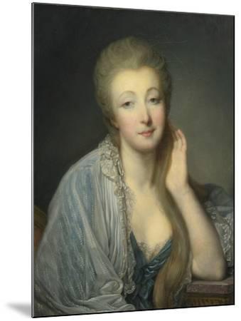 Jeanne Bécu, Comtesse Du Barry (1743-179)-Jean-Baptiste Greuze-Mounted Giclee Print