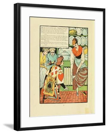 Illustration for Fairy Tale Cinderella-Walter Crane-Framed Giclee Print