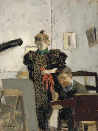 Vallotton and Natanson-?douard Vuillard-Framed Giclee Print