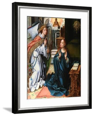 The Annunciation-Pieter Coecke Van Aelst the Elder-Framed Giclee Print