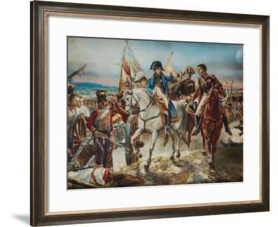 Napoleon at the Battle of Friedland-Claude Joseph Vernet-Framed Giclee Print