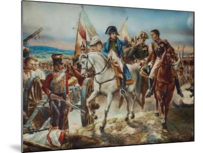 Napoleon at the Battle of Friedland-Claude Joseph Vernet-Mounted Giclee Print