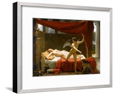 Cupid and Psyche-François-Édouard Picot-Framed Giclee Print