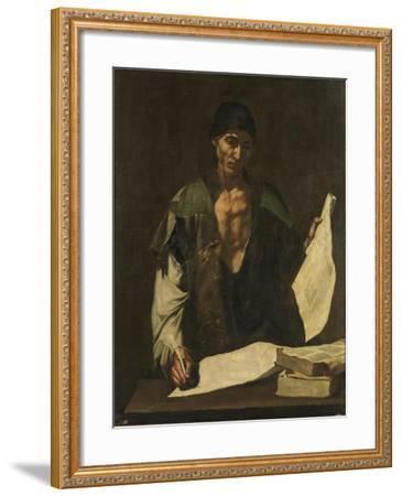 Archimedes-Jos? de Ribera-Framed Giclee Print