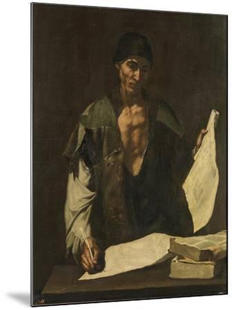 Archimedes-Jos? de Ribera-Mounted Giclee Print