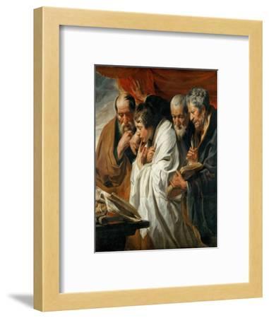 The Four Evangelists-Jacob Jordaens-Framed Giclee Print