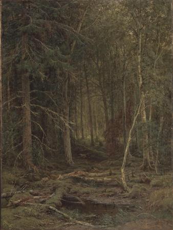 Backwoods-Ivan Ivanovich Shishkin-Framed Giclee Print