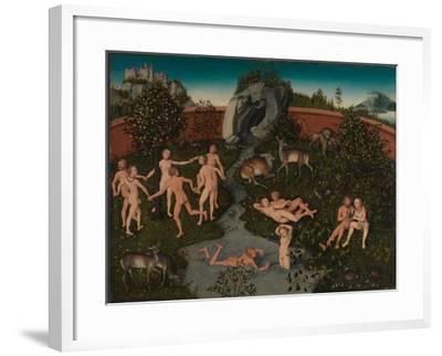 The Golden Age-Lucas Cranach the Elder-Framed Giclee Print