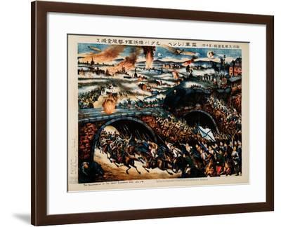 Triumph of Russian Army at the Battle of Galicia--Framed Giclee Print