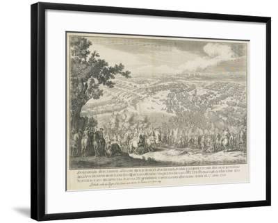The Battle of Poltava on 27 June 1709-Nicolas de Larmessin-Framed Giclee Print