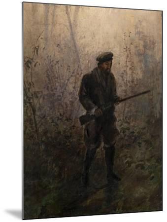 Hunter in the Forest-Ivan Pavlovich Pokhitonov-Mounted Giclee Print