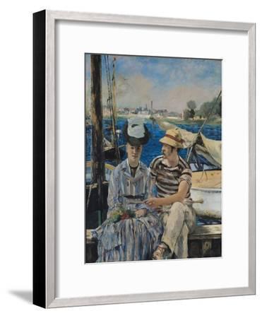 Argenteuil-Edouard Manet-Framed Giclee Print