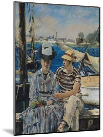 Argenteuil-Edouard Manet-Mounted Giclee Print