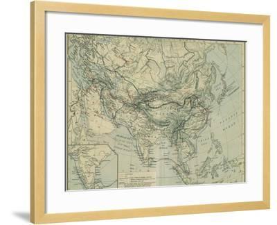 Medieval Commerce from the Historical Atlas-William Robert Shepherd-Framed Giclee Print