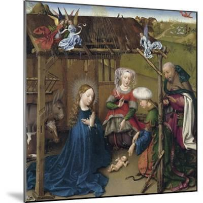 The Nativity-Jacques Daret-Mounted Giclee Print