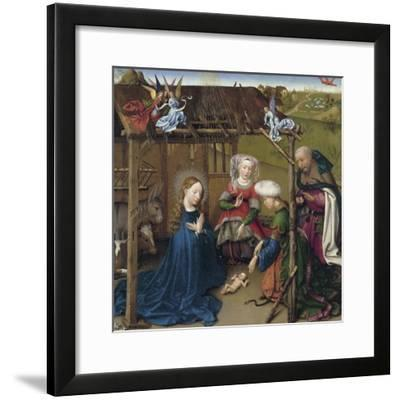 The Nativity-Jacques Daret-Framed Giclee Print