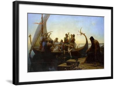 Lost Illusions (The Evening)-Charles Gleyre-Framed Giclee Print