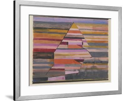 The Pyramid Clown-Paul Klee-Framed Giclee Print