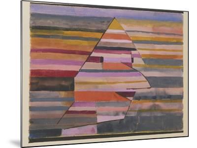 The Pyramid Clown-Paul Klee-Mounted Giclee Print