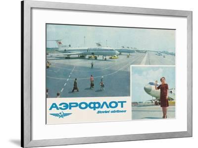 Aeroflot--Framed Giclee Print
