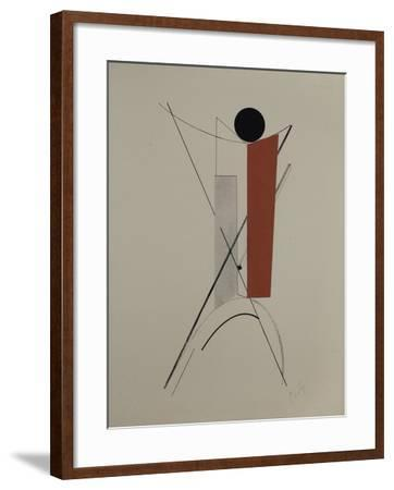 Proun-El Lissitzky-Framed Giclee Print