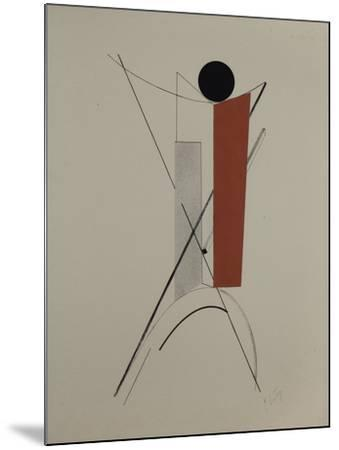Proun-El Lissitzky-Mounted Giclee Print