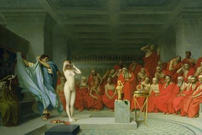 Phryne before the Areopagus-Jean-L?on Ger?me-Framed Giclee Print