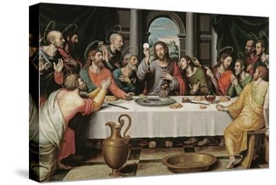 The Last Supper-Juan De juanes-Stretched Canvas Print
