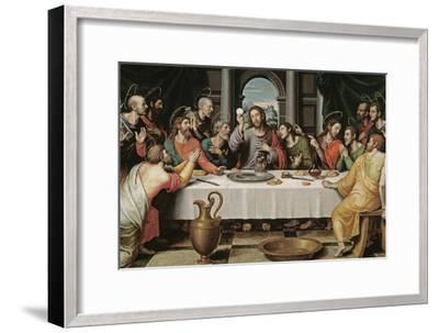 The Last Supper-Juan De juanes-Framed Premium Giclee Print