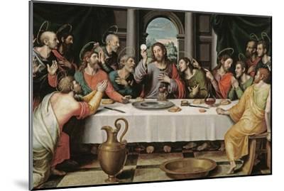 The Last Supper-Juan De juanes-Mounted Premium Giclee Print