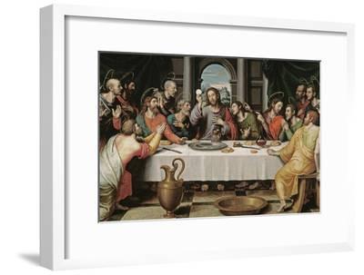 The Last Supper-Juan De juanes-Framed Giclee Print