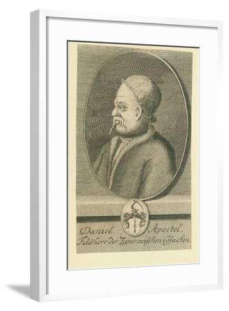 Hetman Danylo Apostol (1654-173)-Martin Bernigeroth-Framed Giclee Print