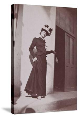 Misia Natanson in Cannes-?douard Vuillard-Stretched Canvas Print