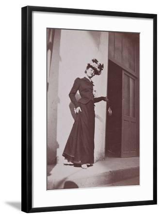 Misia Natanson in Cannes-?douard Vuillard-Framed Giclee Print