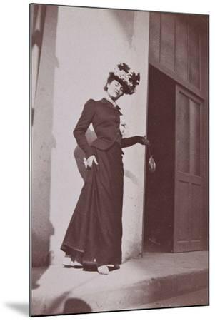 Misia Natanson in Cannes-?douard Vuillard-Mounted Giclee Print