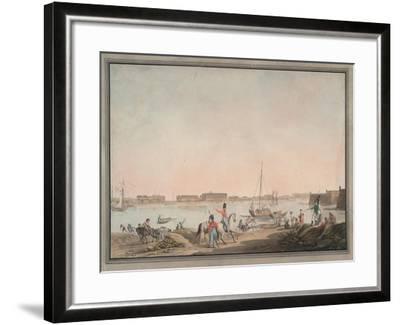 View of St. Petersburg from the Neva, 1808-Christian Gottlieb Hammer-Framed Giclee Print