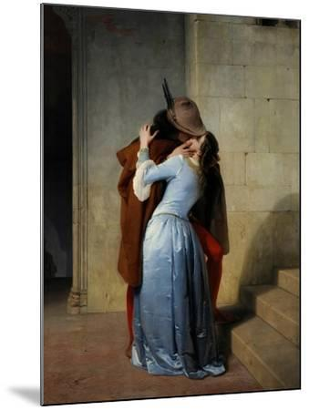 The Kiss-Francesco Hayez-Mounted Giclee Print