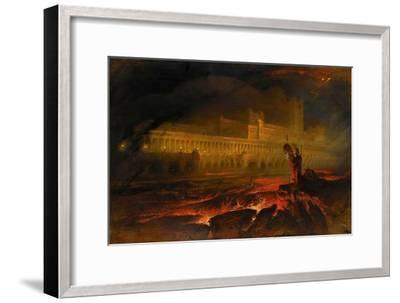 Pandemonium-John Martin-Framed Giclee Print