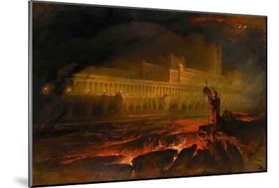 Pandemonium-John Martin-Mounted Giclee Print