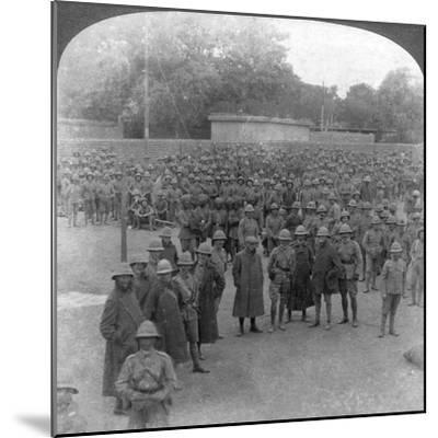 The Rawalpindi Manoeuvres Military Review, India, 1906-Underwood & Underwood-Mounted Giclee Print