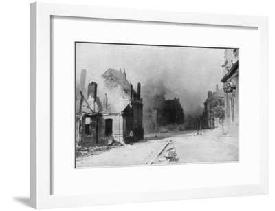 The Ruins of Cambrai, France, First World War, 1918--Framed Giclee Print
