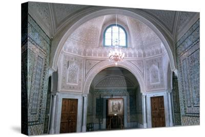 The Virgil Room, Bardo Museum, Tunisia--Stretched Canvas Print