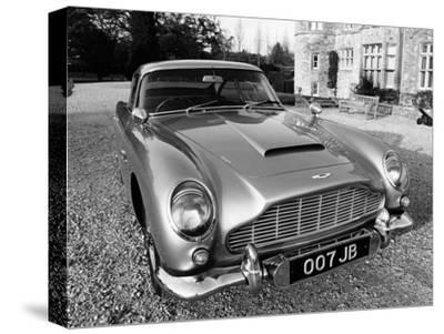 James Bond's Aston Martin DB5, Used in the Film Goldfinger--Stretched Canvas Print