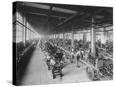 Wolseley Factory, Birmingham, C1921--Stretched Canvas Print