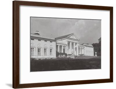 The Vlakhernskoye-Kuzminki Estate of Prince Sergey Mikhaylovich Golitsyn, 1890s--Framed Giclee Print