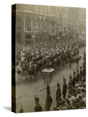 Procession for Queen Victoria's Diamond Jubilee, 1897--Stretched Canvas Print