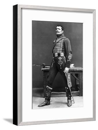 Lewis Waller (1860-191), English Actor and Theatre Manager, Early 20th Century- Ellis & Walery-Framed Giclee Print